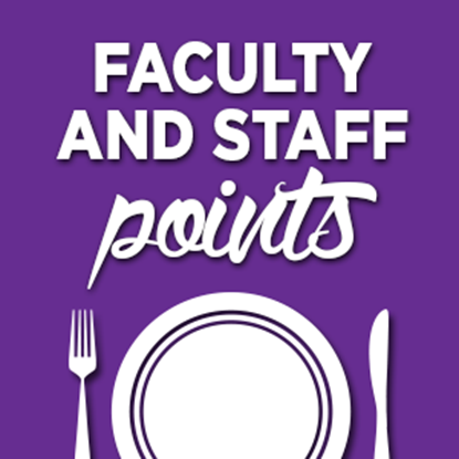 $100 Faculty & Staff Points